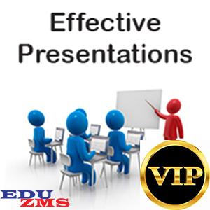 Effective Presentations - EP
