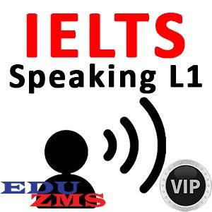IELTS Speaking L1 VIP Silver