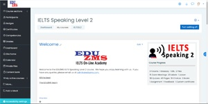 IELTS Speaking L2 Course Front Page
