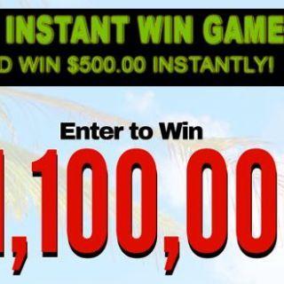 Million Dollar Strike It Rich Sweepstakes