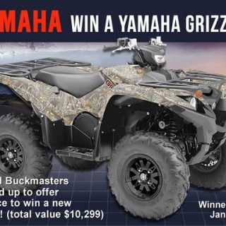 Buckmasters Yamaha Grizzly ATV Contest