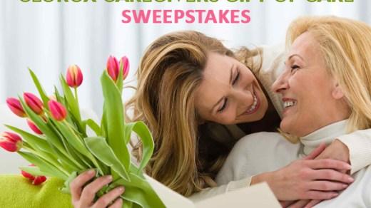 Clorox Caregivers Cash Sweepstakes