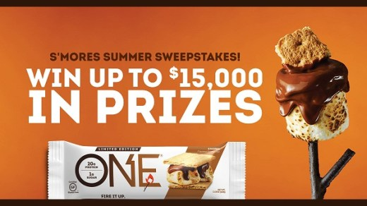 ONE Brands S mores Summer Sweepstakes