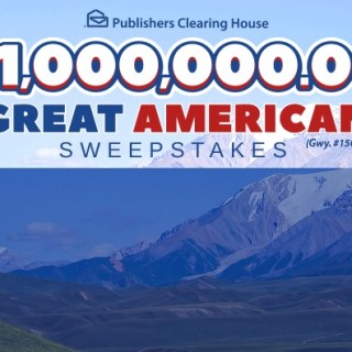 PCH $1,000,000 Great American Sweepstakes