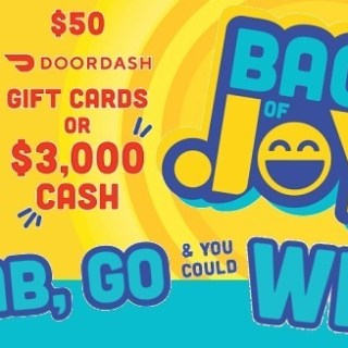 Lays Bags of Joy Sweepstakes