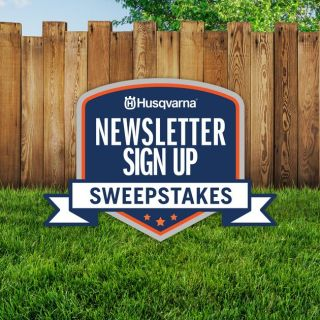 Husqvarna Newsletter Sign Up Sweepstakes