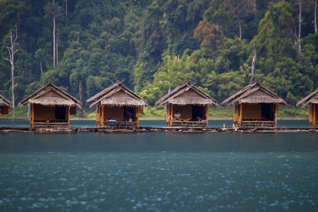 Chiew Laan Lake Raft Houses