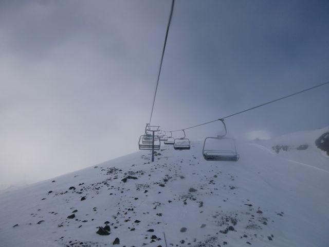 Mt. Ruapehu- ghostly