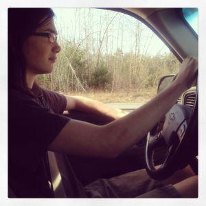 Gabe drives
