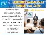 Cómo promover y vender con un Pitch o Speech de Ventas
