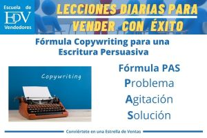 Conoce tres (3)  fórmulas de escritura persuasiva del Copywriting