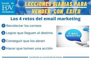 Los 4 retos del email marketing