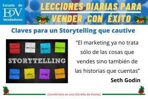Las 10 Claves para optimizar tu Storytelling y contar historias para vender con éxito
