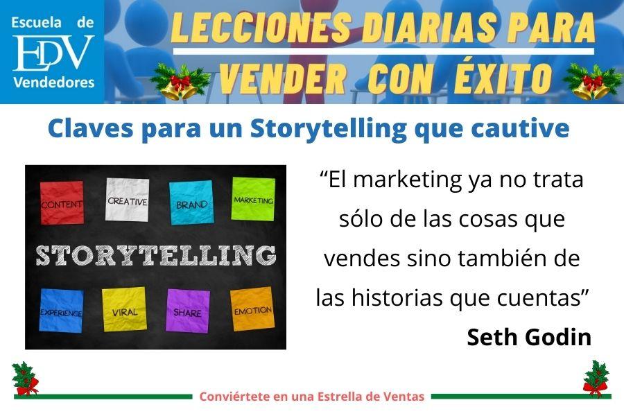 Storytelling para vender con éxito