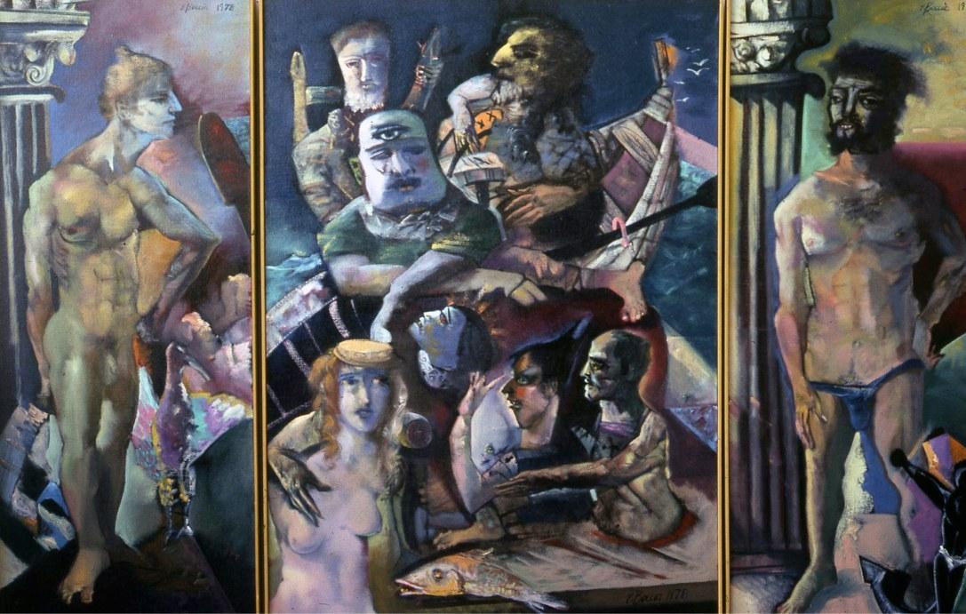 Artsy, creative, Edward-Boccia, Ed-Boccia, Boccia, Art, Painting, Expressionism, WashingtonUniversityStLouis, St-Louis, Neo-Expressionist, Italian-American, American-Art, Missouri
