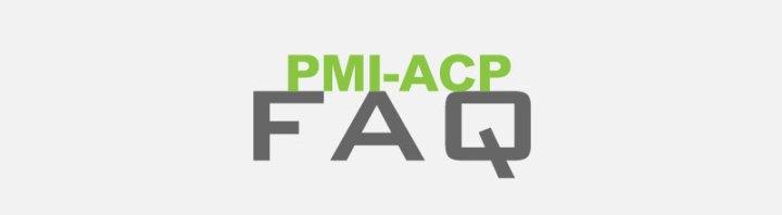 PMI-ACP FAQ