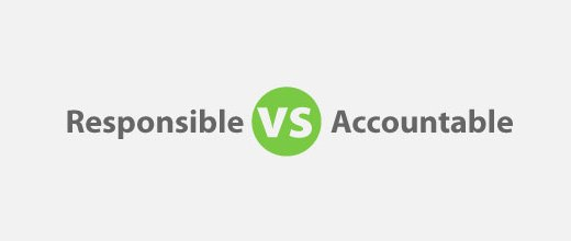 RACI: Responsible vs Accountable for PMP Exam