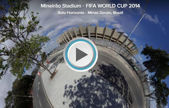 TOUR VIRTUAL 360° Estadio Mineirão, Belo Horizonte, Brasil