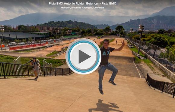 TOUR VIRTUAL 360°  Pista BMX Antonio Roldán Betancur, Medellín, Colombia