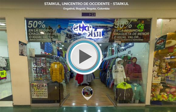 TOUR VIRTUAL 360° Tienda STARKUL, Unicentro de Occidente