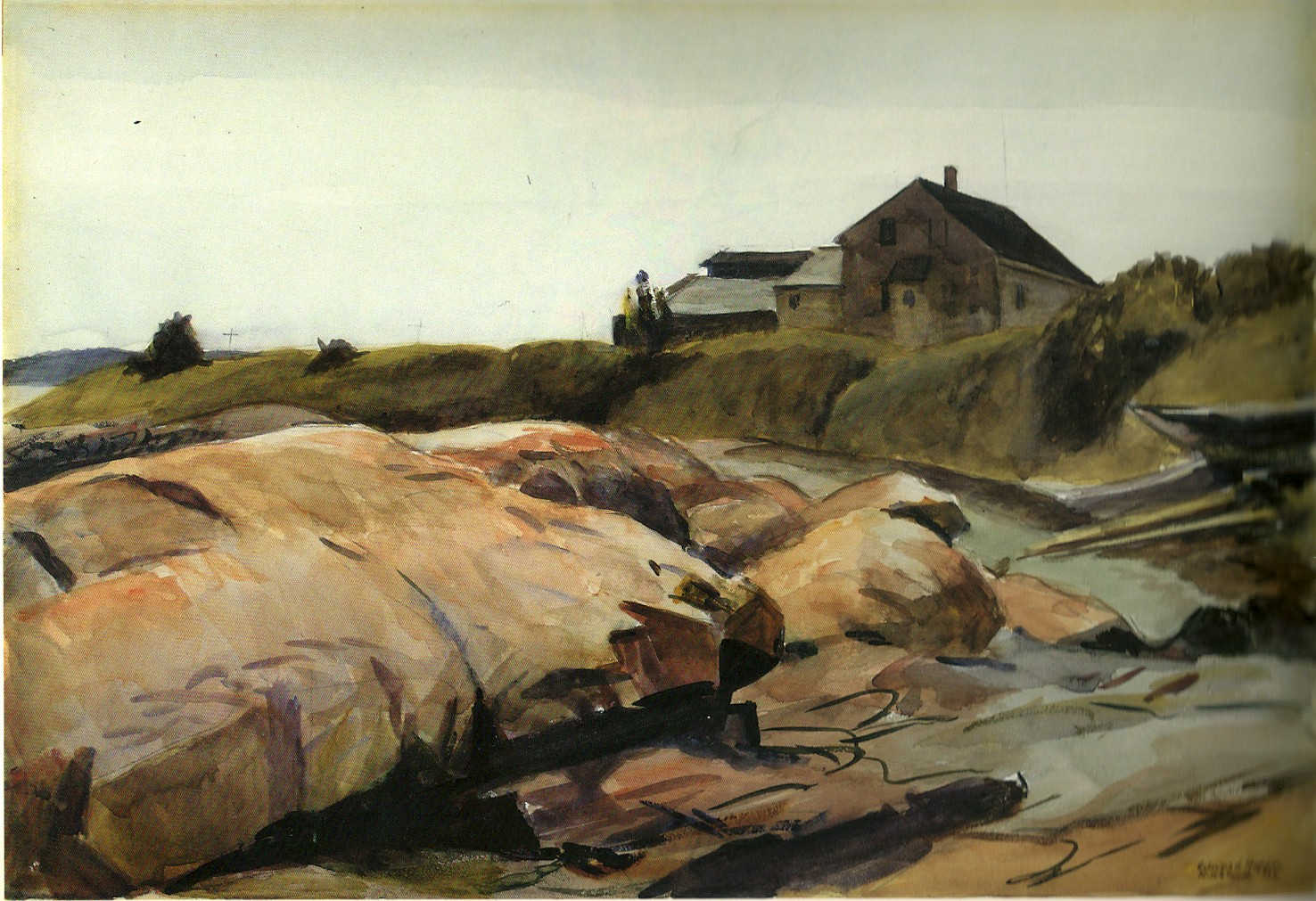 Harbor Shore, Rockland (1926) - Edward Hopper