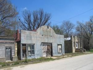 Ghost town, Kansas