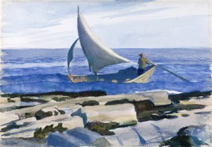 The Dory (1929), Edward Hopper, Nelson-Atkins Museum, Kansas City