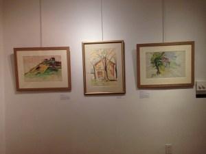 Jo Hopper watercolors