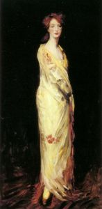 Marjorie in a Yellow Shawl, Robert Henri