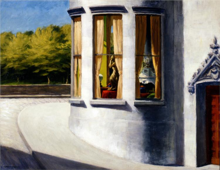 August in the City (1945) Edward Hopper Norton Museum of Art West Palm Beach Florida