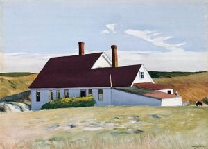 Jenness House Looking North (1934) Edward Hopper Ringling Museum of Art Sarasota Florida