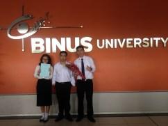 My Thesis Group ( Anissa, Sudiarto, Me )