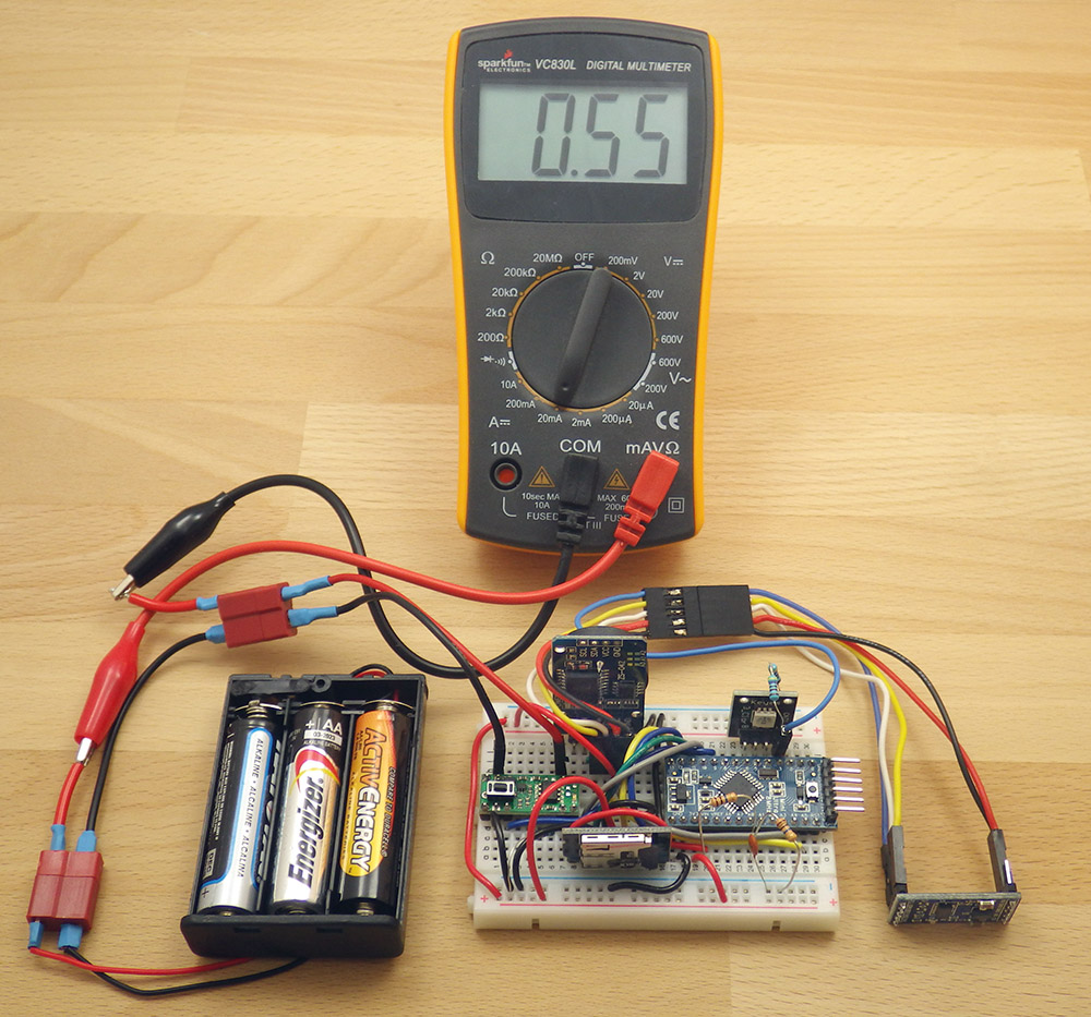 Self Made Datalogger Data Acquisition And Logging Schematics