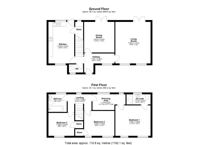 3 bed detached house for sale in Sykes Meadow, Edgeley