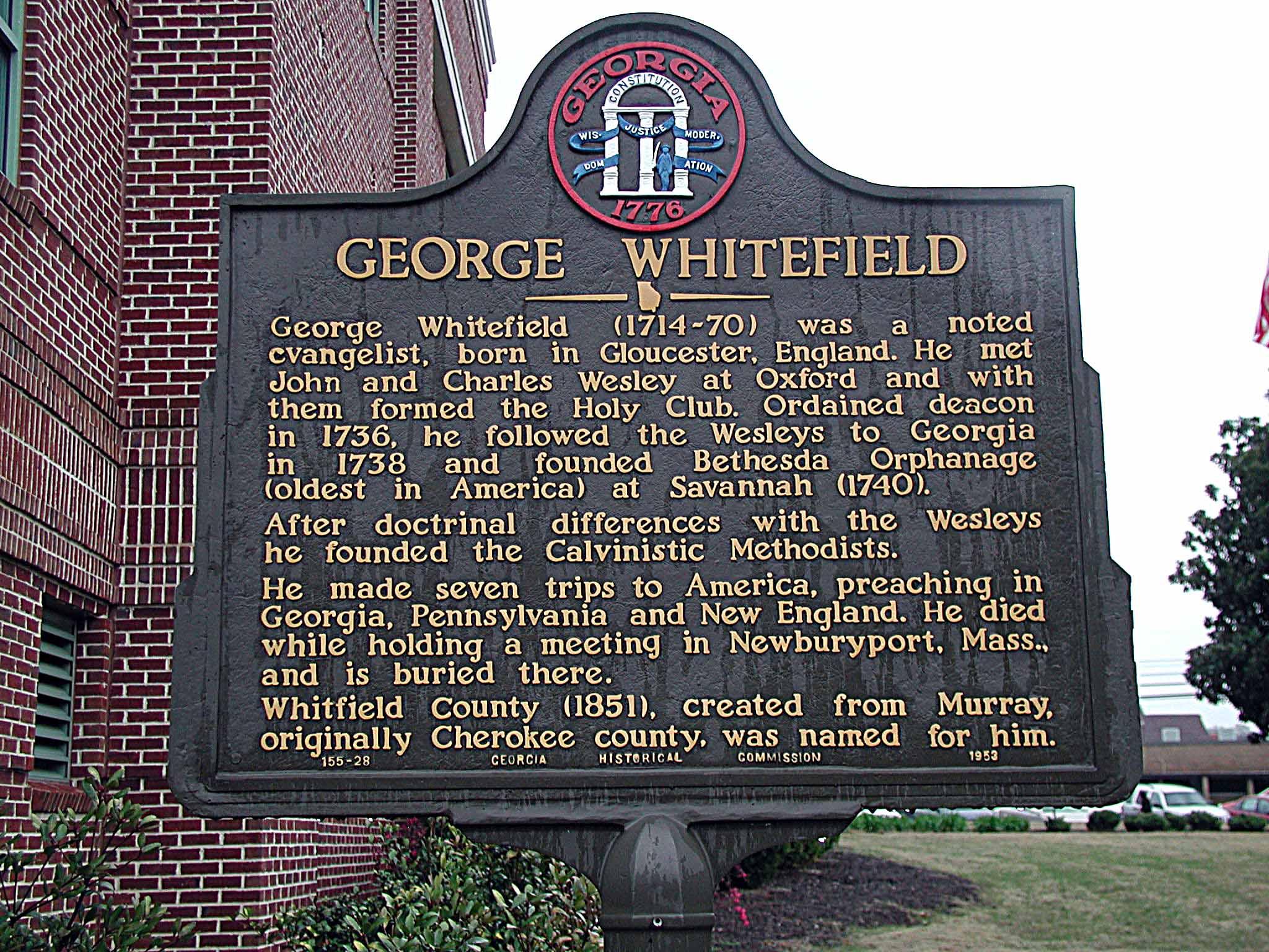 George Whitefield Commemorative Symposium