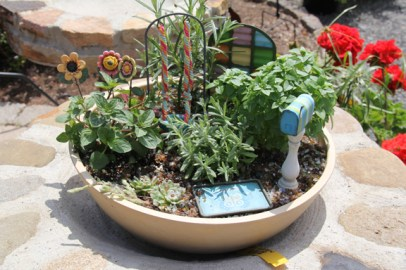 Miniature Garden Items at Edward's Garden Center