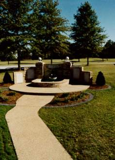 An image of the Susan Ann Stille Youth Memorial at Edwardsville Township Community Park.