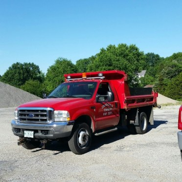 2002 F450 Dump truck