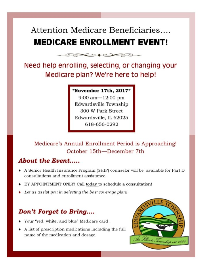 Medicare Event flyer