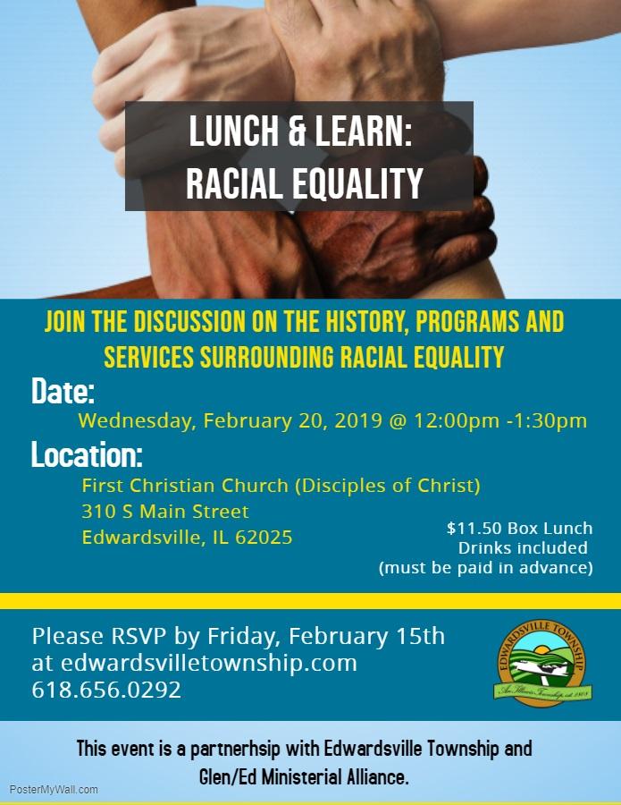 Racial Equality Flyer