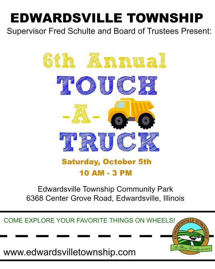 6th Annual Touch -A- Truck_ flier