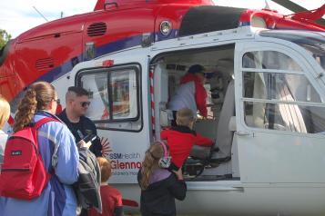 SSM Health Cardinal Glennon Helicopter 4