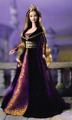 Elizabeth of York doll
