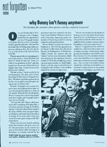 John Bunny Silent Movie Star Article by Edward Weiss