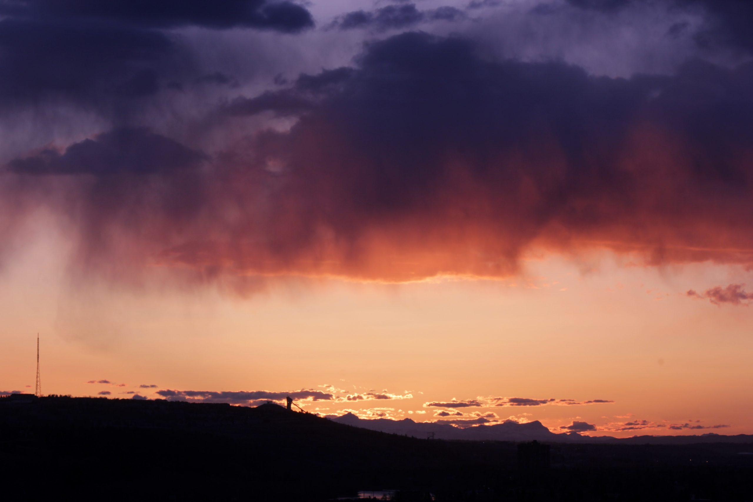 Canada Olympc Park Sunset