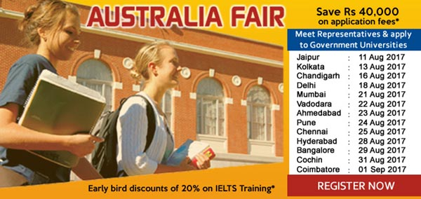 Visit Australia Fair and Apply to Study at Australia with Edwise International