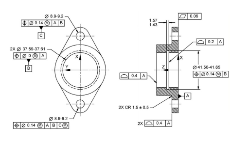 Geometric Dimensioning and Tolerancing using NX CAD