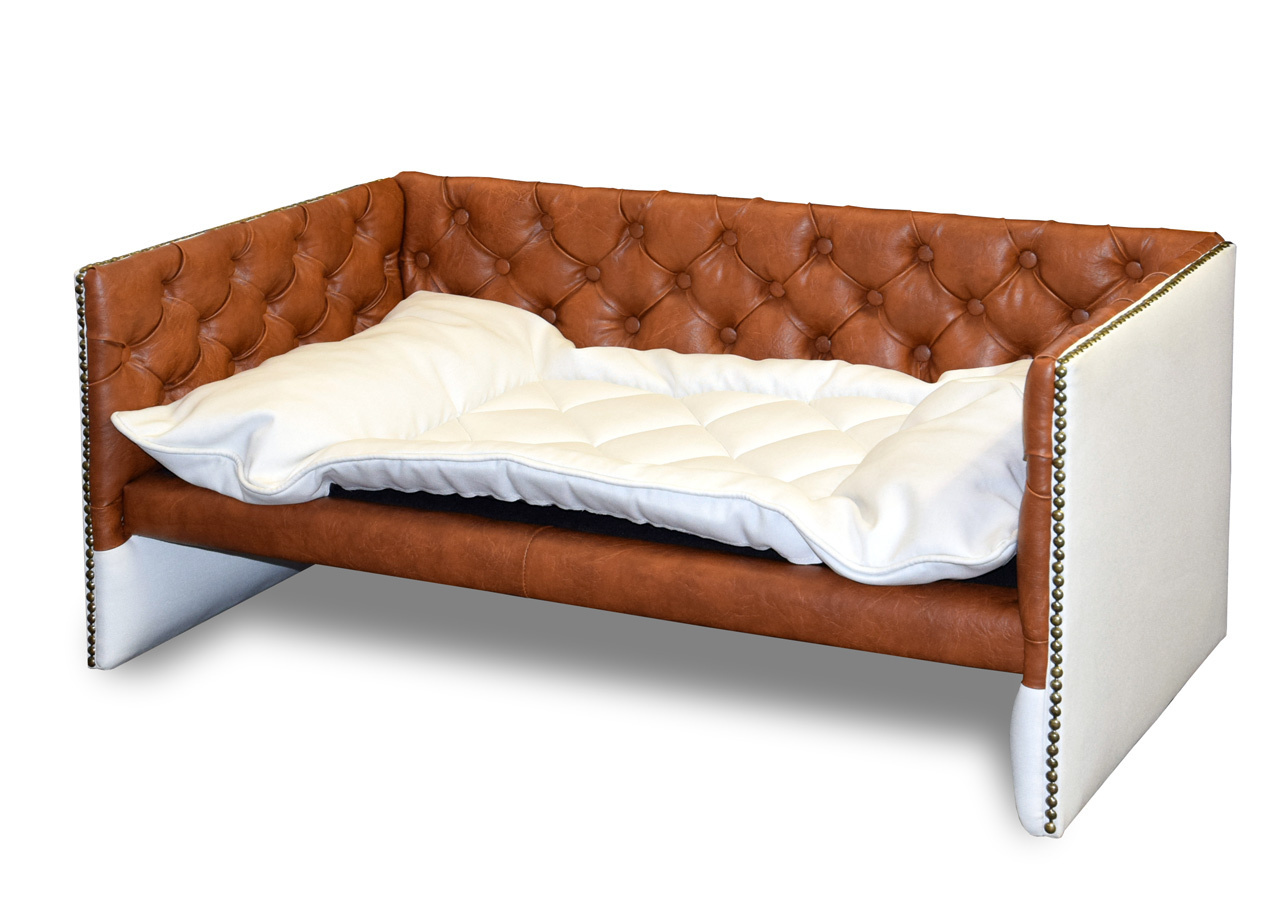 Xxl Chesterfield Sofa Lord Deluxe Chesterfield Brandy Xxl Hundesofas Nach Mass