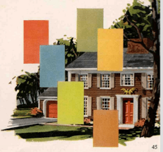 mid century colors