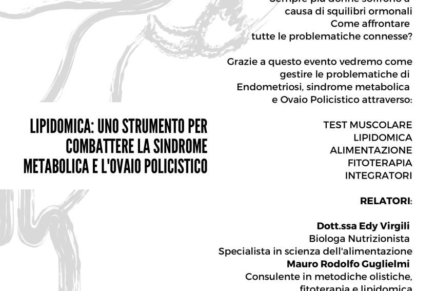lipidomica_ UNO STRUMENTO PER COMBATTERE LA SINDROME METABOLICA E L'OVAIO POLICISTICO